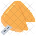 Fortune Cookie Take Away Dessert Icon