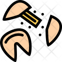Fortune Cookie Candy Icon
