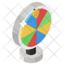 Fortune Wheel Luck Wheel Spinning Wheel Icon