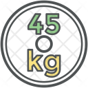 Forty Five Kg Icon