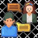 Forum Discussion Communication Conversation Icon
