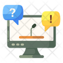 Faq Forum Discussion Questions Answers Icon