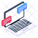 Forum Discussion Online Chat Online Communication Icon
