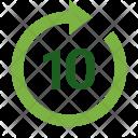 Forward 10 second Icon