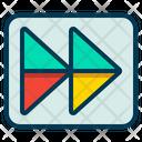 Forward Skip Play Icon