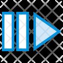 Forward Arrow Chevron Icon