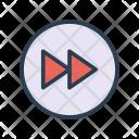 Forward Next Rewind Icon