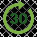 Forward 30 second Icon