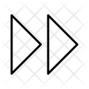Forward Arrows Icon