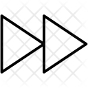 Forward Music Clip Icon