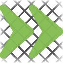 Navigation Forward Next Icon