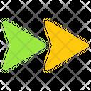 Forward Arrow Directional Arrow Arrow Icon