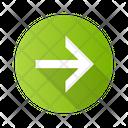 Forward Arrow Navigation Icon
