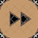 Forward Button Square Icon