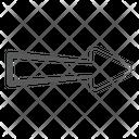 Forward Direction Forward Arrow Arrowhead Icon