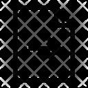 Forward Document Icon