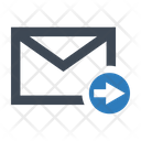 Forward Email Maill Icon