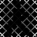 Forward Lunge Icon