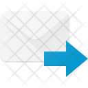 Forward Mail Email Icon