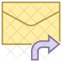 Forward Message Mail Icon