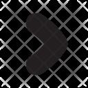 Forward Navigation Icon