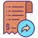 Forward Payment Invoice Icon
