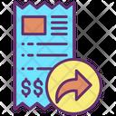 Forward Share Bill Icon