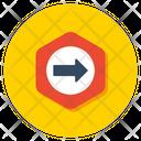 Forward Sign Icon