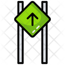 Forward Sign Board Icon