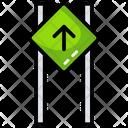 Forward Sign Board Road Signboard Signboard Icon