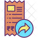 Forward Tickets Bills Icon