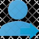 Forward User Icon