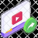 Forward Video Media Forward Next Video Icon