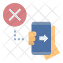 Forwarding Cyber Stop Icon