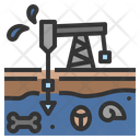 Fossil Fuel Rig Icon
