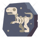 Fossil Ancient Scientist Icon