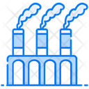Fossil Fuels Oil Extraction Power Plant Icon