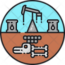 Fossil Fuels Dead Decomposition Icon