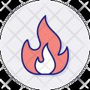Fossil Fuels Bonfire Burn Icon