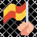 Foul Flag Referee Icon