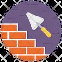 Bricks Under Construction Brickwork Icon