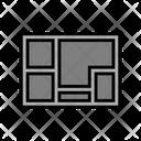 Foundation Concrete Color Icon