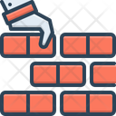 Foundational Building Construction Icon