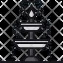Fountain Garden Fountain Park Fountain Icon