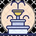 Fountain Decorative Fountain Park Fountain Icon