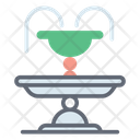 Fountain Park Amusement Park Fountain Icon