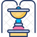 Fountain Water Fall Icon