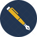 Fountain Pen Hand Writing Ink Pen Icon