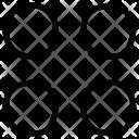 Four Circles Grid Icon