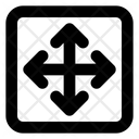 Four Arrow Direction Arrow Direction Icon